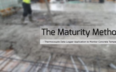 Temperature Monitoring in Concrete Maturity