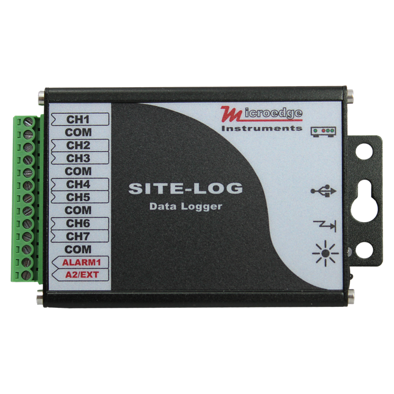 16 Channel Temperature Data Logger Voltage : Rugged temperature data logger designed and produced by