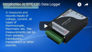 Introduction of site log data logger
